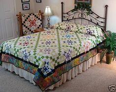 Starburst Quilt Pattern in Sizes Twin Queen   eBay