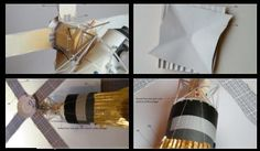 The Lower Hudson Valley Paper Model E-Gift Shop - Photo Gallery - Apollo Spacecraft