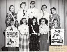 Being on safety patrol was such an honor in elementary school in the 1960's.