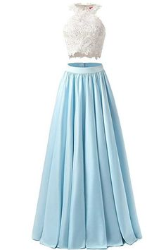 Sexy Prom Dress,Charming Prom Dresses,Light Blue Prom Gown,Lace