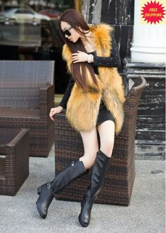 women boots 2014 fashion women genuine leather shoes zipper thigh high boots over the knee boot platform horse riding