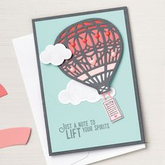 Lift Me Up Clear-Mount Stamp Set by Stampin' Up!