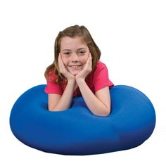 Mushy Smushy™ Beanbag Chair [CF4584] - Circle time, floor time, reading time, quiet time…any time is a good time for the Mushy Smushy. Perfect for kids with wiggly, restless bottoms, low muscle tone or sensitivities to hard surfaces, this ultra comfortable floor seat provides just the right amount of support for the hips and lower back, where children need it.