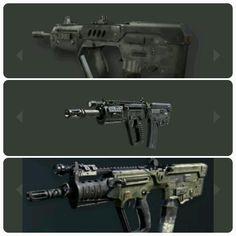 The Tar a gun that also evolves