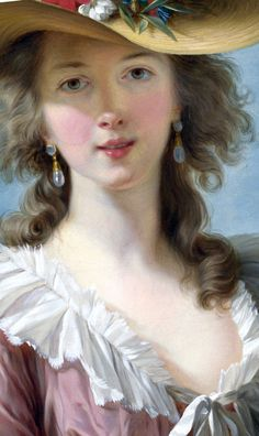 Gorgeous Selfie! Louise Élisabeth Vigée Le Brun (16 April 1755 – 30 March 1842) was a French painter, and is recognized as the most important female painter of the 18th century.