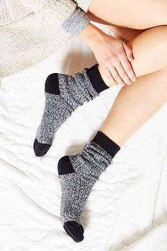 Urban Outfitters Marled Cozy Boot Sock