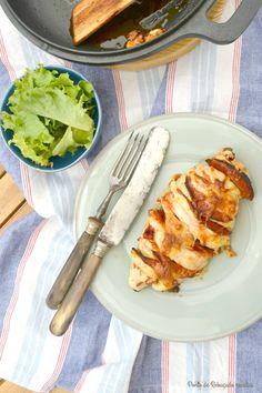 Ponto de Rebuçado Receitas: Peito de frango com sabor a pizza