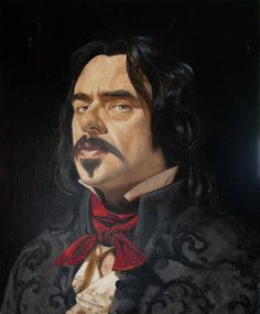 Freeman White. What we do in the shadows - vampire portrait