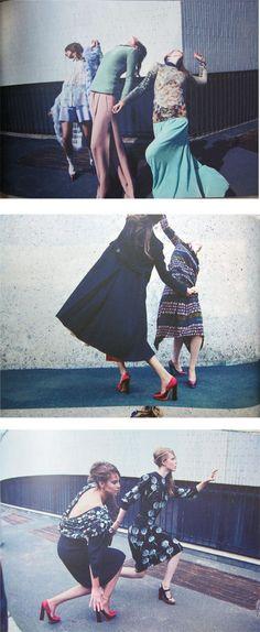 Edito mode pour le numéro 5 de Grey Magazine, 2011, photos: Alessio Bolzoni