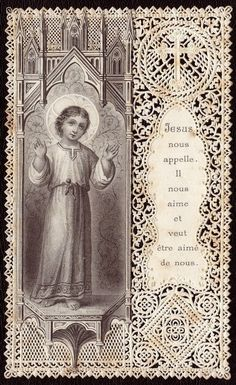 Whatsoever things are lovely, whatsoever things are of good report; if there be any virtue, and if there be any praise, think on these things. Catholic Religion, Catholic Art, Religious Art, Religious Jewelry, Roman Catholic, Vintage Holy Cards, Vintage Postcards, Christian Images, Prayer Cards