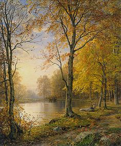 Indian Summer scenery William Trost Richards Landscape art for sale at Toperfect gallery. Buy the Indian Summer scenery William Trost Richards Landscape oil painting in Factory Price. Landscape Art, Landscape Paintings, Summer Landscape, Hudson River School, Indian Summer, Beautiful Paintings, Art Reproductions, Metropolitan Museum, Belle Photo