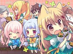 Image via We Heart It https://weheartit.com/entry/148532836 #anime #chibi #cute #kawaii