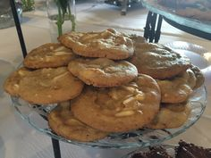 White Chocolate-Macadamia Nut Cookies - Catering by Debbi Covington - Beaufort, SC