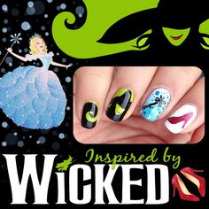 Teenails wicked nails for espressokitty wicked wickednails teenails wicked nails for espressokitty wicked wickednails nail art pinterest wicked makeup and hair makeup prinsesfo Image collections