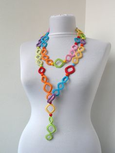 Collection Summer Fiesta  Multicolor Crocheted by DreamList, $89.00