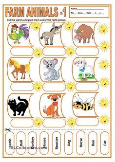 FARM ANIMALS 1