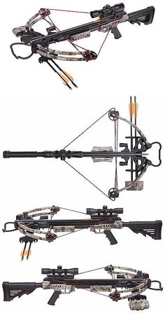 Crossbows 33972: Centerpoint Sniper 370 - 370 Fps Scope Quiver Camo Crossbow Package - Axcs185ck -> BUY IT NOW ONLY: $284.95 on eBay!