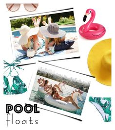 """""""pool party"""" by maripir on Polyvore featuring Big Mouth and Victoria Beckham"""