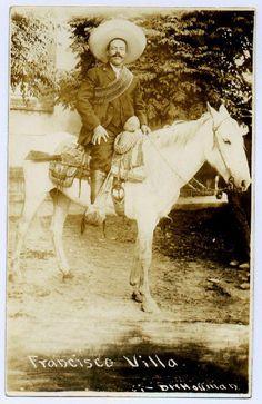 Pancho Villa fue un granjero de muy temprana edad . El luego se volvió un bandido cuando mato un hombre por amenazar su hermana. El fue persuadido por Madero para ser parte de le revolución . El se volvió un leader  del militar . El era un gran estratégico . Se volvió aliado con los norteño mexicanos . El fue asasinado en 1923 en Parral México .