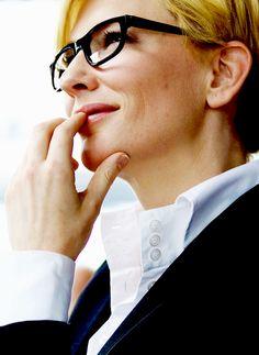 Cate Blanchett in menswear is my aesthetic.