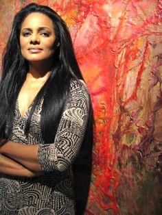Wanakee Pugh - Model, artist and sweet soul sister.