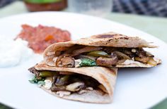 Vegan Southwest Quesadillas These are really good! I make it at least once a week!