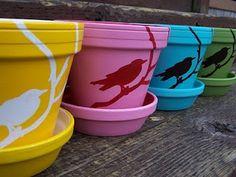 Mettez de la couleur à votre espace extérieur - 16 Idées bricolage Pot de fleurs