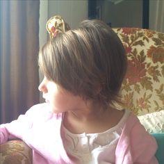 Little girl short haircut