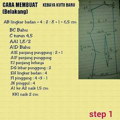 Kutubaru pattern Step 1