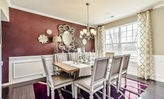 Dining Room. Model Homes Model Color - Twitter #ColorChat with @Lenna Dahlquist Rivera Charlotte today at 4pm et. Waxhaw Home