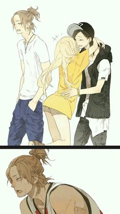 I am a girl but I am the boy alone while my friends dating kkkkkk- Anime Girlxgirl, Yuri Anime, Anime Kawaii, Anime Art, Anime Couples Drawings, Cute Anime Couples, Manga Love, Anime Love, Manga Romance