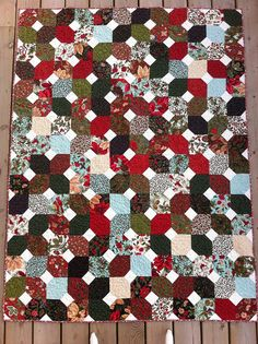 Coming Home to the Woods of Switzerland for Christmas Quilt! | Flickr - Photo Sharing!