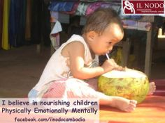 Let's give children what they need to not only survive, but thrive!  #ChildrensRights  www.ilnodoonlus.org