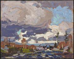 urgetocreate:  Tom Thomson, Tea Lake Dam, 1917
