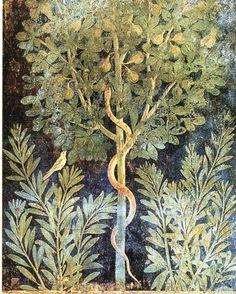 Roman Fresco fig tree