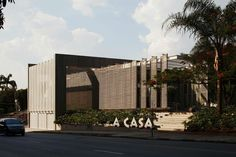 A Casa – Museum of the Brazilian Object A Casa (The Home) – Museum of the Brazilian Object is a project designed as the new headquarters of this non-profit organization under the general management of Renata Mellão. The new facility will house the exhibition sector for artisanal, semi-artisanal or industrial objects as an expression of …