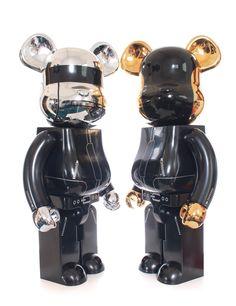 Bearbrick 1000% Daft Punk.
