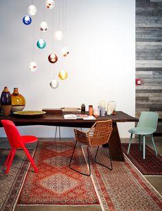 Chairs HOUDINI and THIS by @stefandiez. - seen on www.schoener-wohnen.de. / www.e15.com #e15