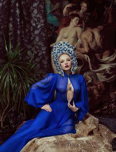 #cobalt #blue #gown