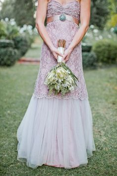 I love all the green in this bouquet  blushing bride protea | Blushing Bride Protea Bouquet |