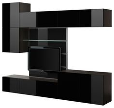 As we knew it was IKEA of Sweden that introduced new BESTA TV panel with media storage. This new TV panel with media storage of BESTA brand main parts will Tv Stand With Drawers, Tv Stand With Mount, Tv Stand With Storage, Tv Storage Unit, Media Storage, Cd Storage, Storage Ideas, Ikea Tv Wall Unit, Wall Units