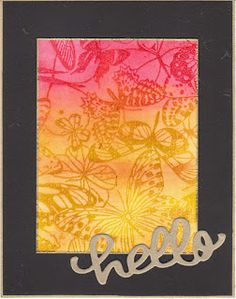 color lifting from Jennifer McGuire, Judikins stamp, distress stains