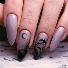 Holloween Nails, Halloween Acrylic Nails, Cute Halloween Nails, Halloween Nail Designs, Best Acrylic Nails, Acrylic Nail Designs, Halloween Halloween, Halloween Office, Women Halloween