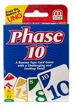 "Phase 10 Card Game â€"" Styles May Vary"