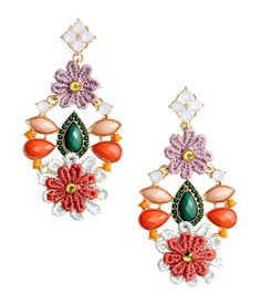 Give them some spring bling with these colorful beaded earrings accented by…