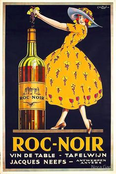 Part of our November Beautiful Rare Original Wine Advertising Poster. Part of our November 2013 poster auction. Creative Advertising, Wine Advertising, Advertising Poster, Product Advertising, Advertising Design, Vintage French Posters, Poster Vintage, French Vintage, Vintage Wine