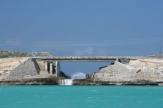 The Glass Bridge Eleuthera