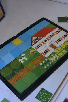 """Creative Playthings """"Build A Picture"""" game"""
