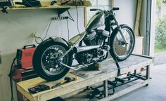 Sportster hardtail project