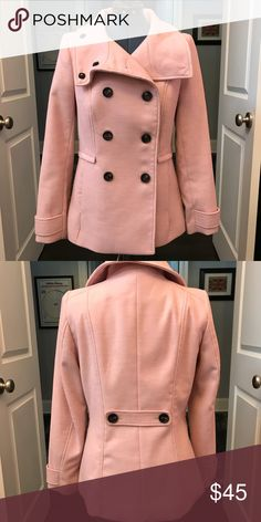 LIKE NEW PEA COAT Only been worn once. The arms aren't long enough for me. No stains or tears. No trades. H&M Jackets & Coats Pea Coats